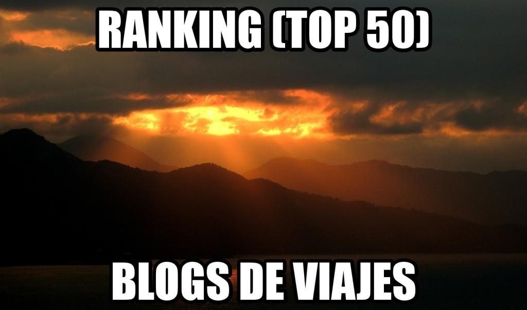 ranking de blogs de viajes