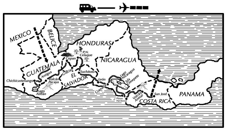 Recorre la Ruta de los Volcanes de Centroamérica