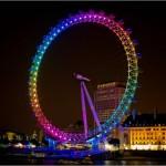 El magnífico London Eye de Londres