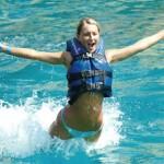 Nadar con delfines en Cancún