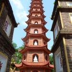 Tran Quoc, la pagoda de Hanói
