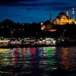 Vive Estambul de noche