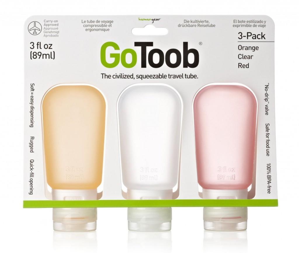 Botellas de viaje GoToob