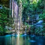 Los cenotes en la península de Yucatán