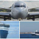 Barco o avión: ¿cómo escoger el mejor medio para tu próximo viaje?