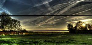 Ley del horizonte en fotografía