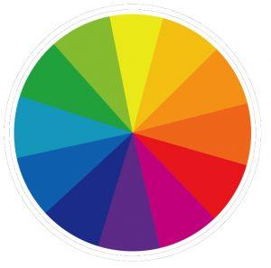 Rueda de color fotografía en tus viajes