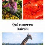 Qué comer en Nairobi